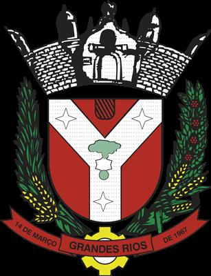 Brasão Prefeitura Municipal de Grandes Rios