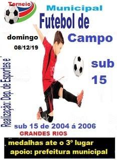 Torneio de Futebol sub-15